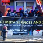 MBTA mechanics and allies rally